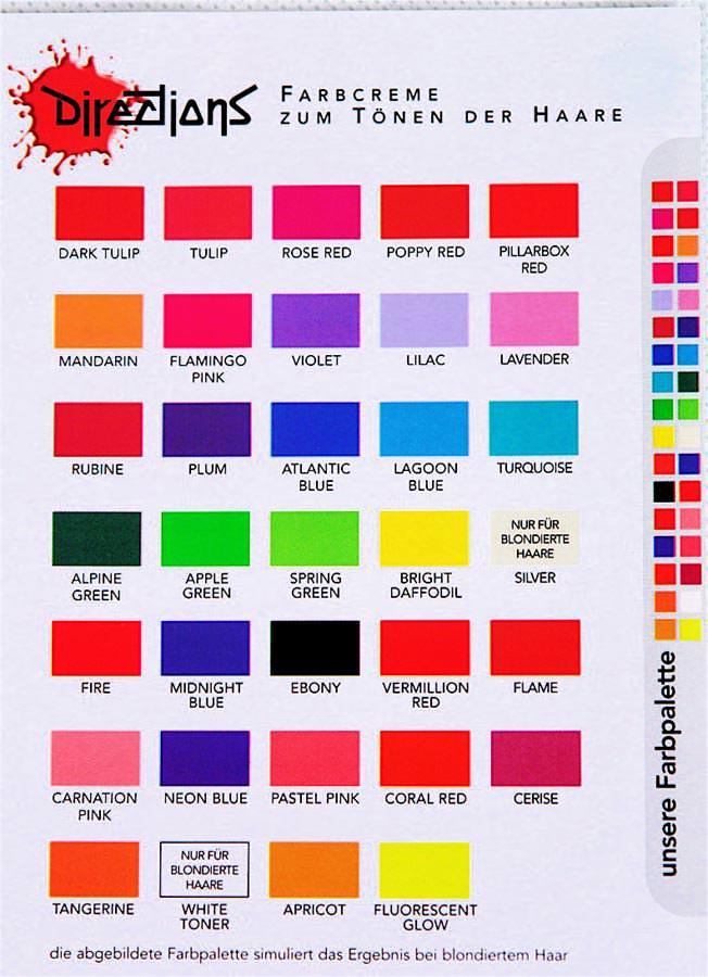 Mischen directions farben Sonnendufts Blog: