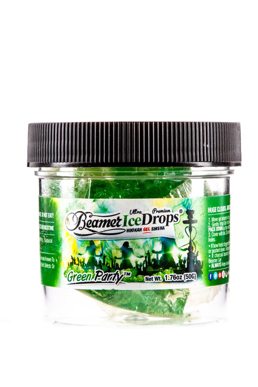 beamer ice drops shishagel 50g green party. Black Bedroom Furniture Sets. Home Design Ideas