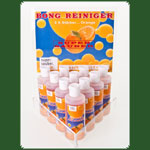 Bong Reiniger Super Sauber Orange Display gef�llt mit 10 x 100ml