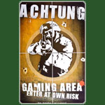 Achtung Gaming  - 61x91,5cm