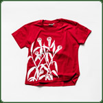 "Ladies T-Shirt Canna Mikro ""M"" - Rot"
