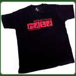 "T-Shirt ""Domination"" Schwarz ""L"""