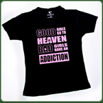 "T-Shirt Ladies ""Good Girls"" Schwarz ""M"""