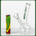 "Weedstar Glasbong ""BlowJob"" Green-Line 14.5er H:18cm D:22mm WS:3"